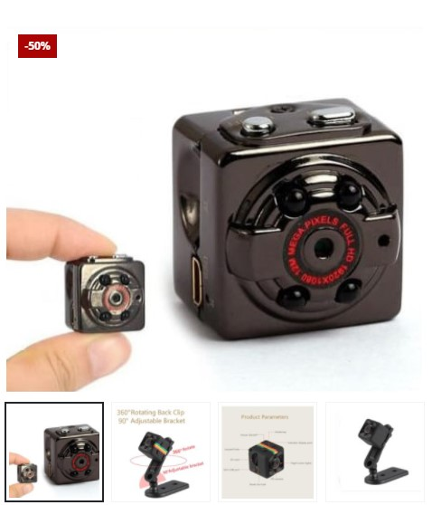 Mini Night Vision Camera