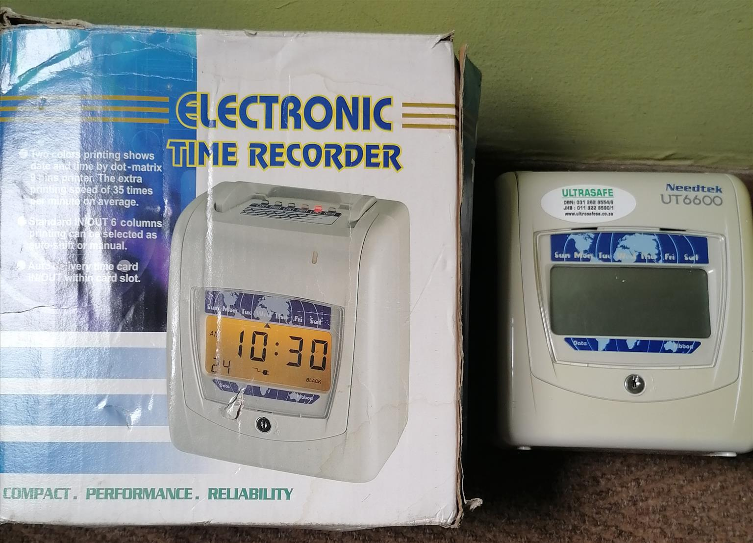 Electronic Time Recorder