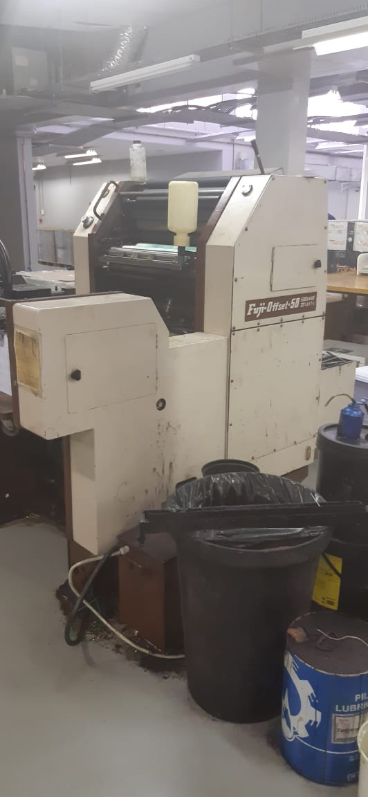 FUJI OFFSET MACHINE - FOR SALE