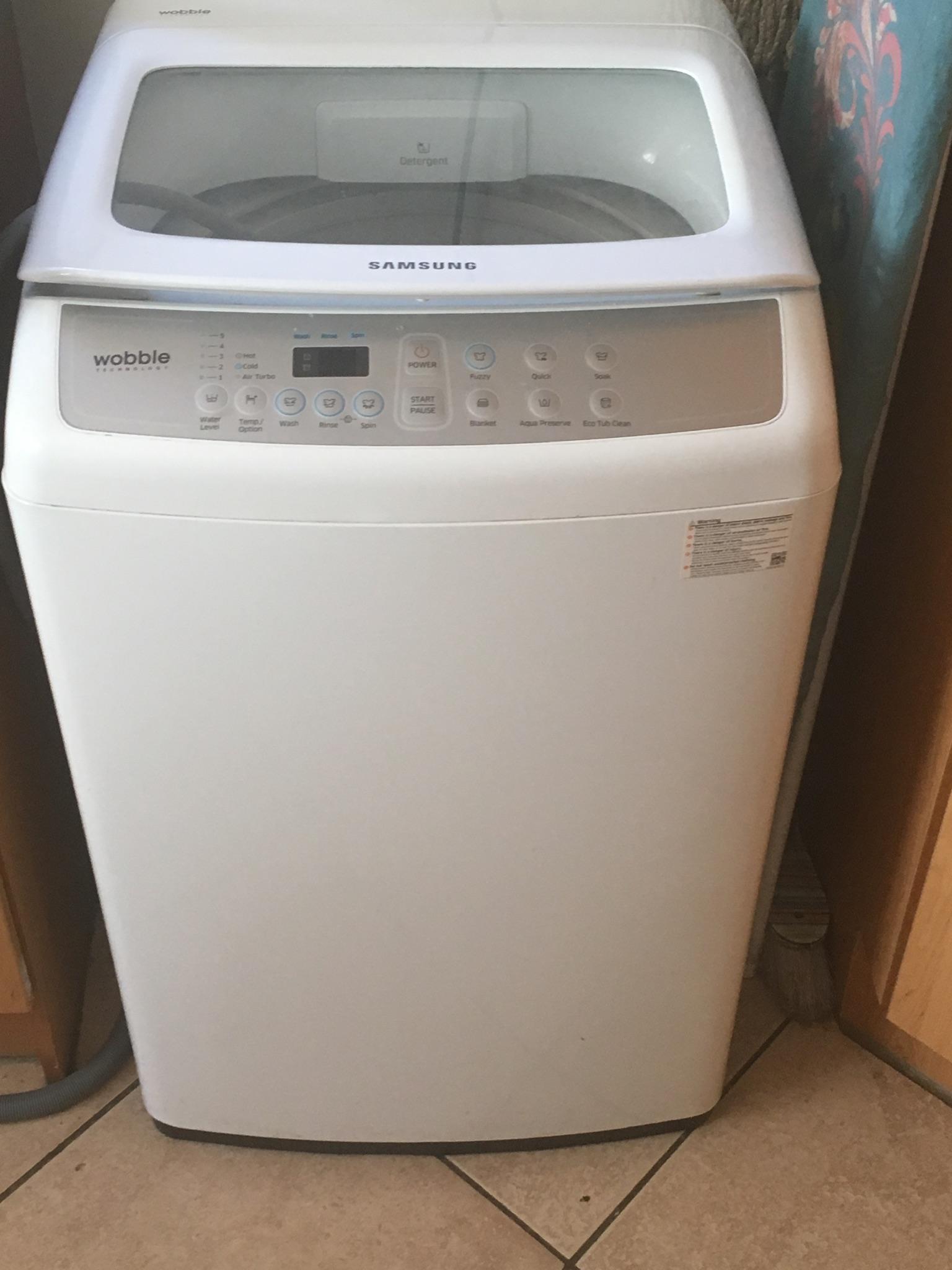 9 KG Samsung washing machine for sale 6 months old