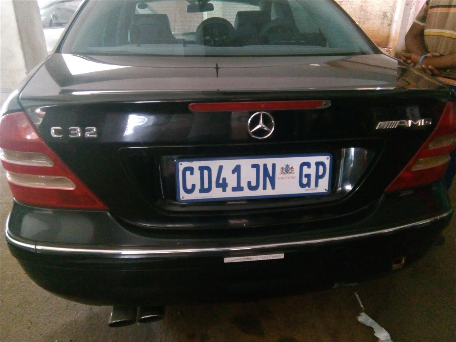 2003 Mercedes Benz 320CE