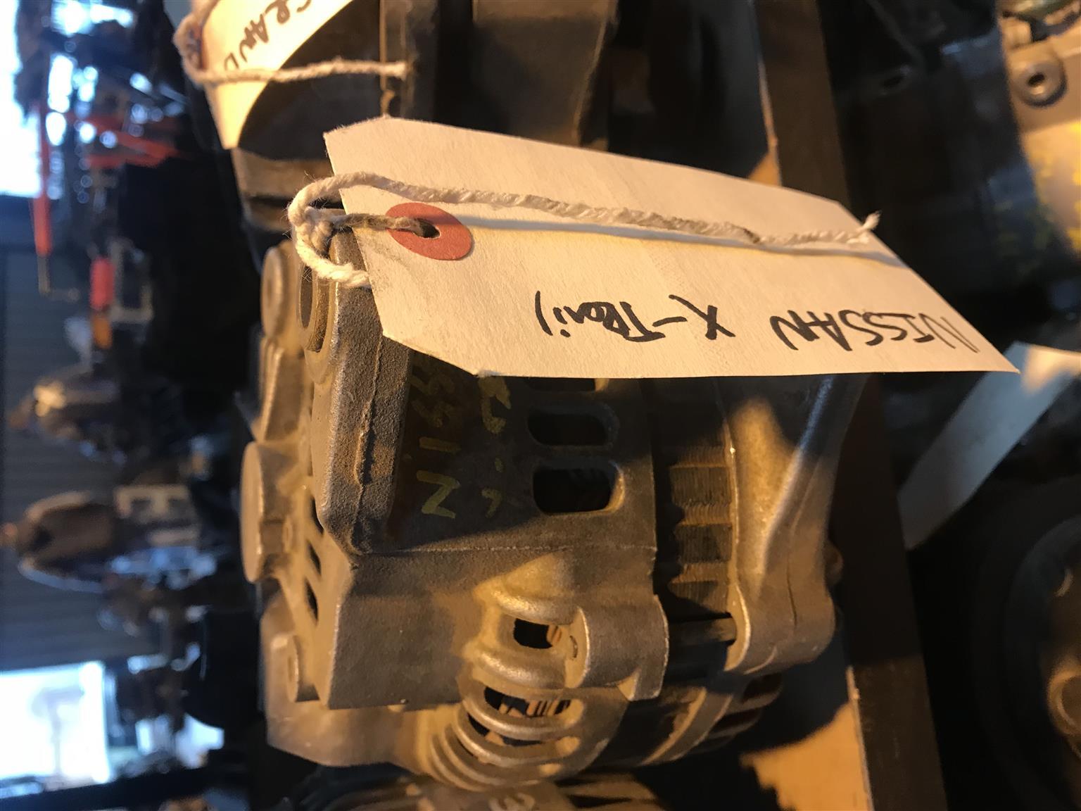Nissan X trail 2.2 diesel alternator