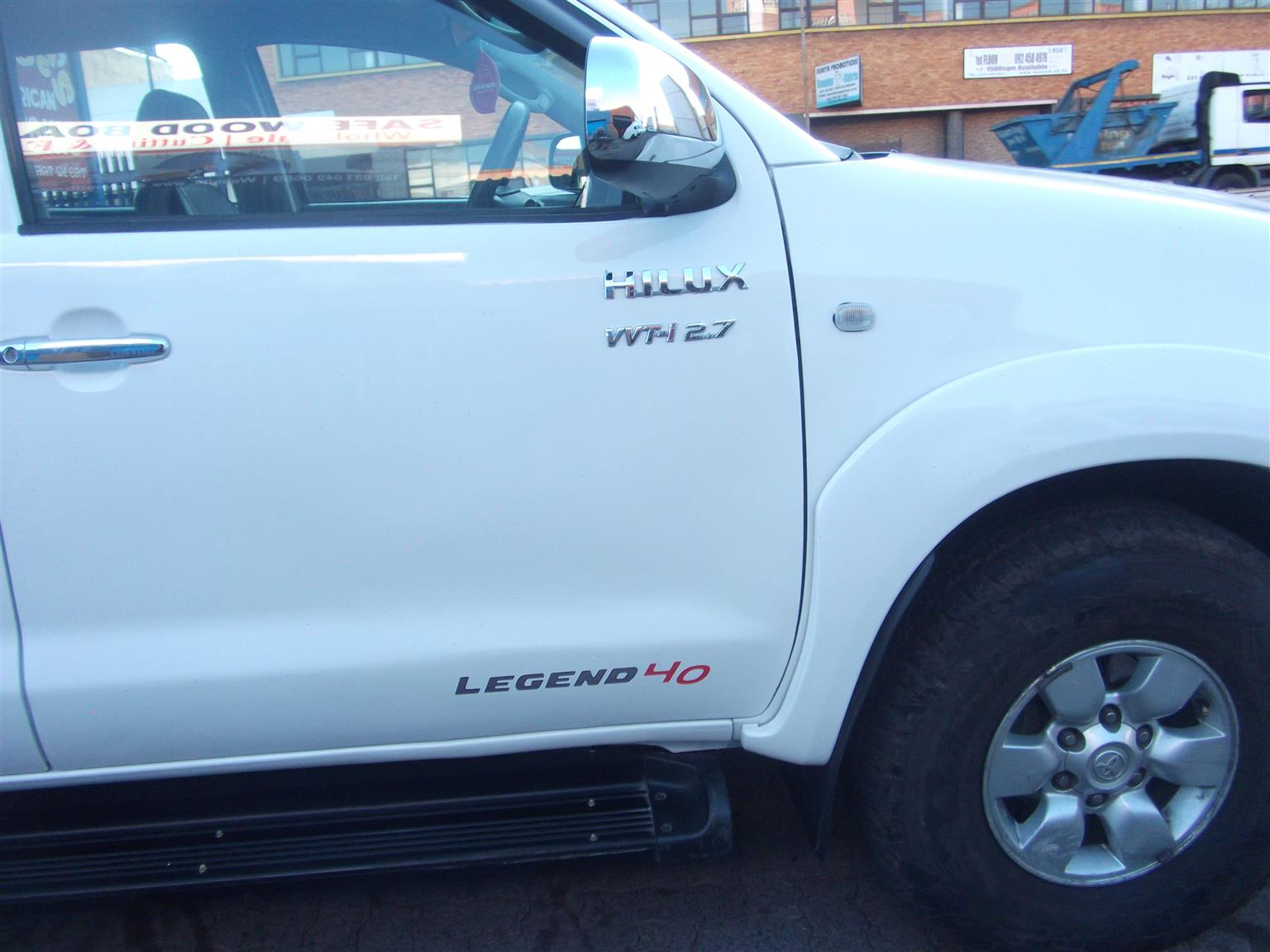 2006 Toyota Hilux 2.7 double cab Raider Legend 45