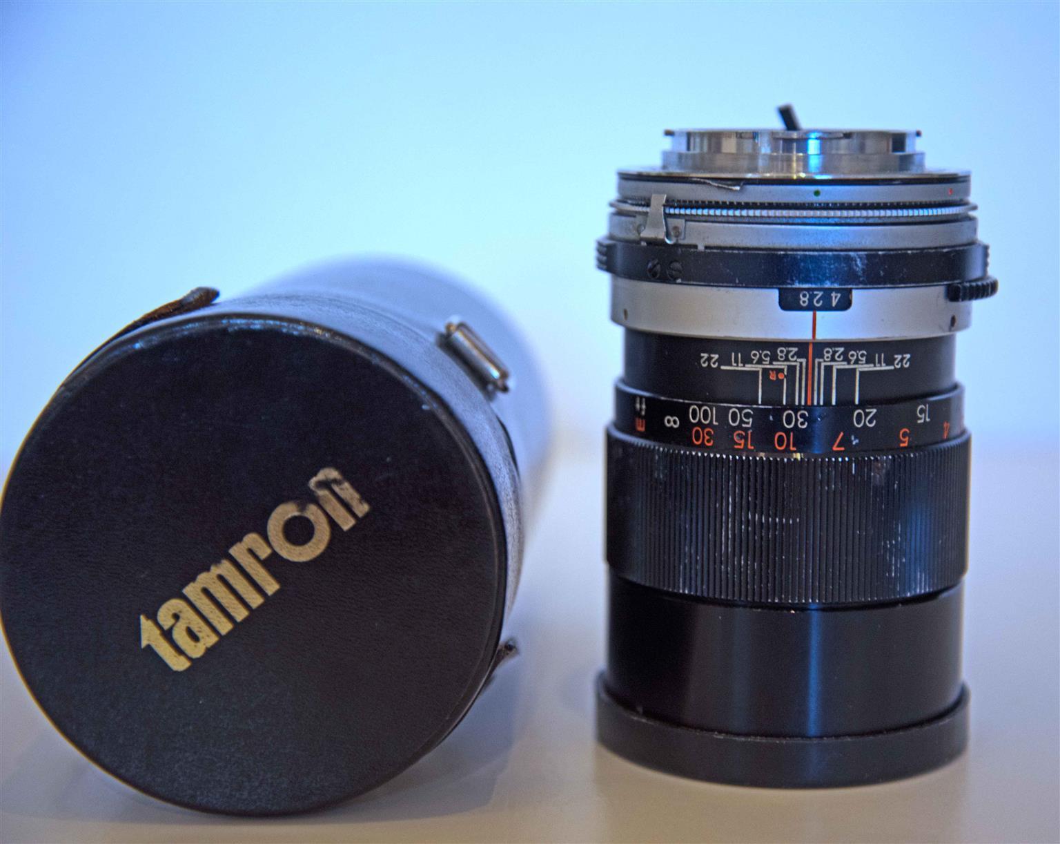 Tamron 135 mm. lens