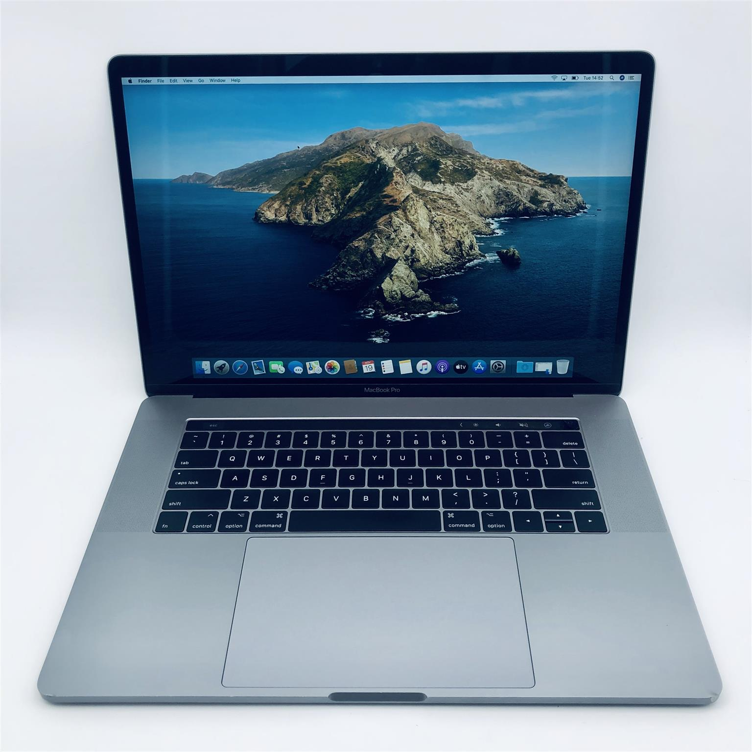 Apple MacBook Pro 15-inch 2.3GHz 8-Core i9 (Touch Bar, 16GB RAM, 512GB SSD, Space Gray) - Pre Owned