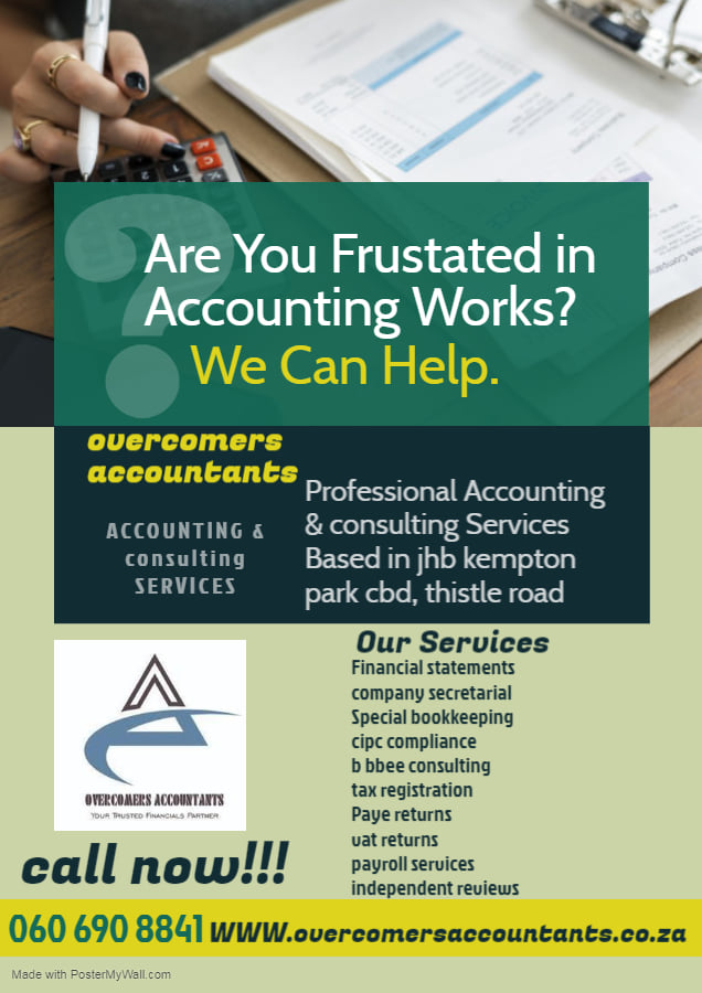 Accounting & Consulting Services If you want to have your own registered company