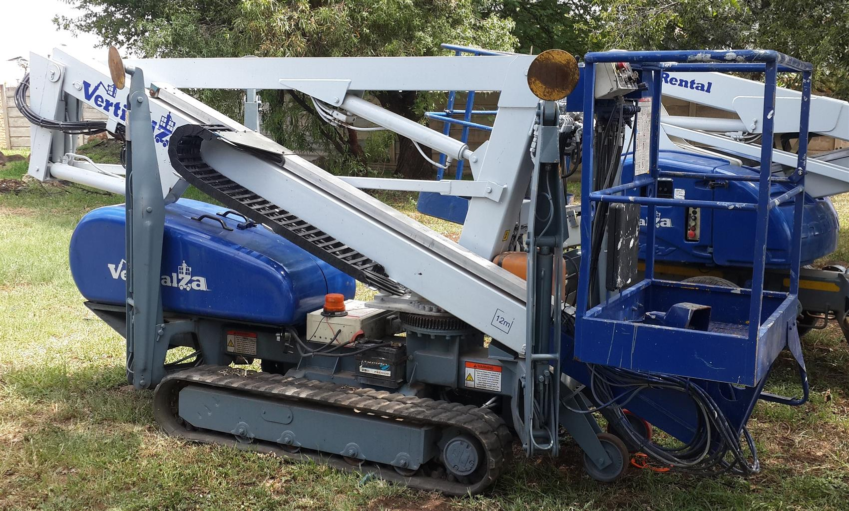 VerticalZA Nifty TD120TDAC - 12m Tracked Cherry Picker, ELECTRICAL Manlift