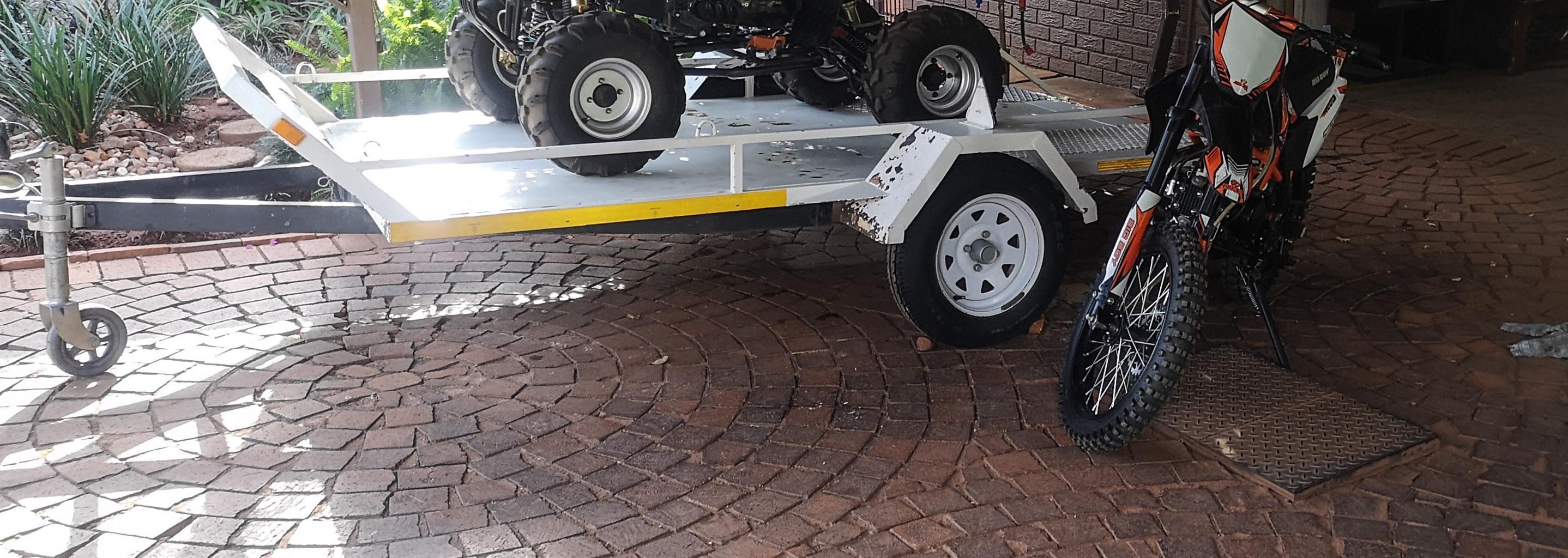 Quad/ Bike or Golf cart Trailor