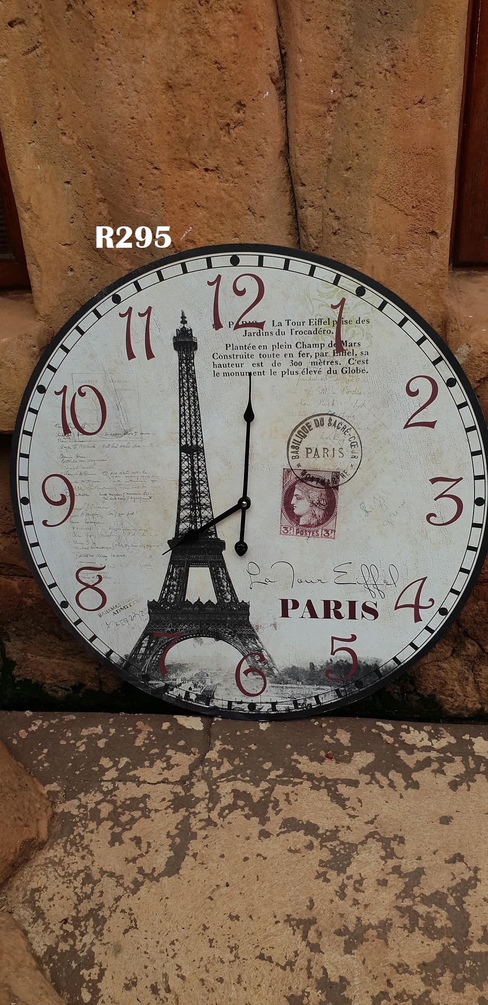 Paris Wall Clock (D 600mm)