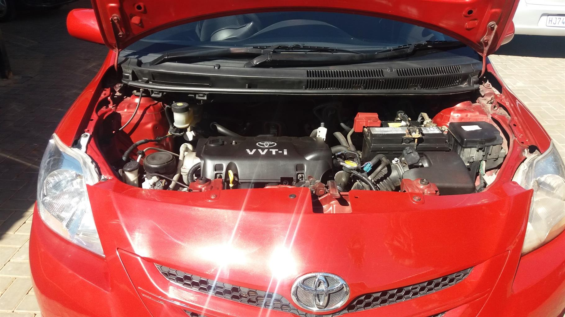 2007 Toyota Yaris 1.3 sedan T3