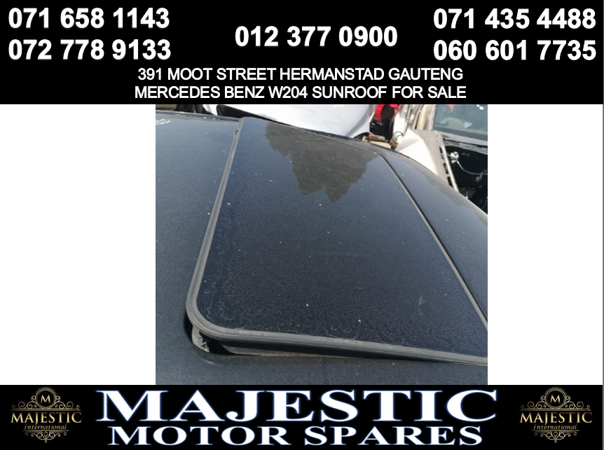 Mercedes benz w204 sunroof for sale