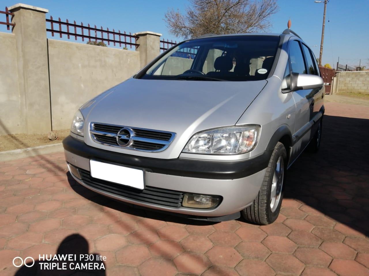 2004 Opel Zafira 1.8 Elegance