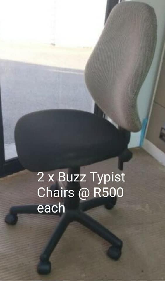 2x Buzz typist chairs.