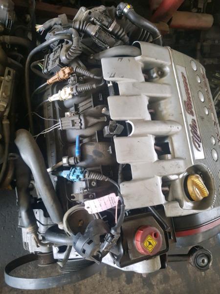 Alfa Romeo twin spark Engine
