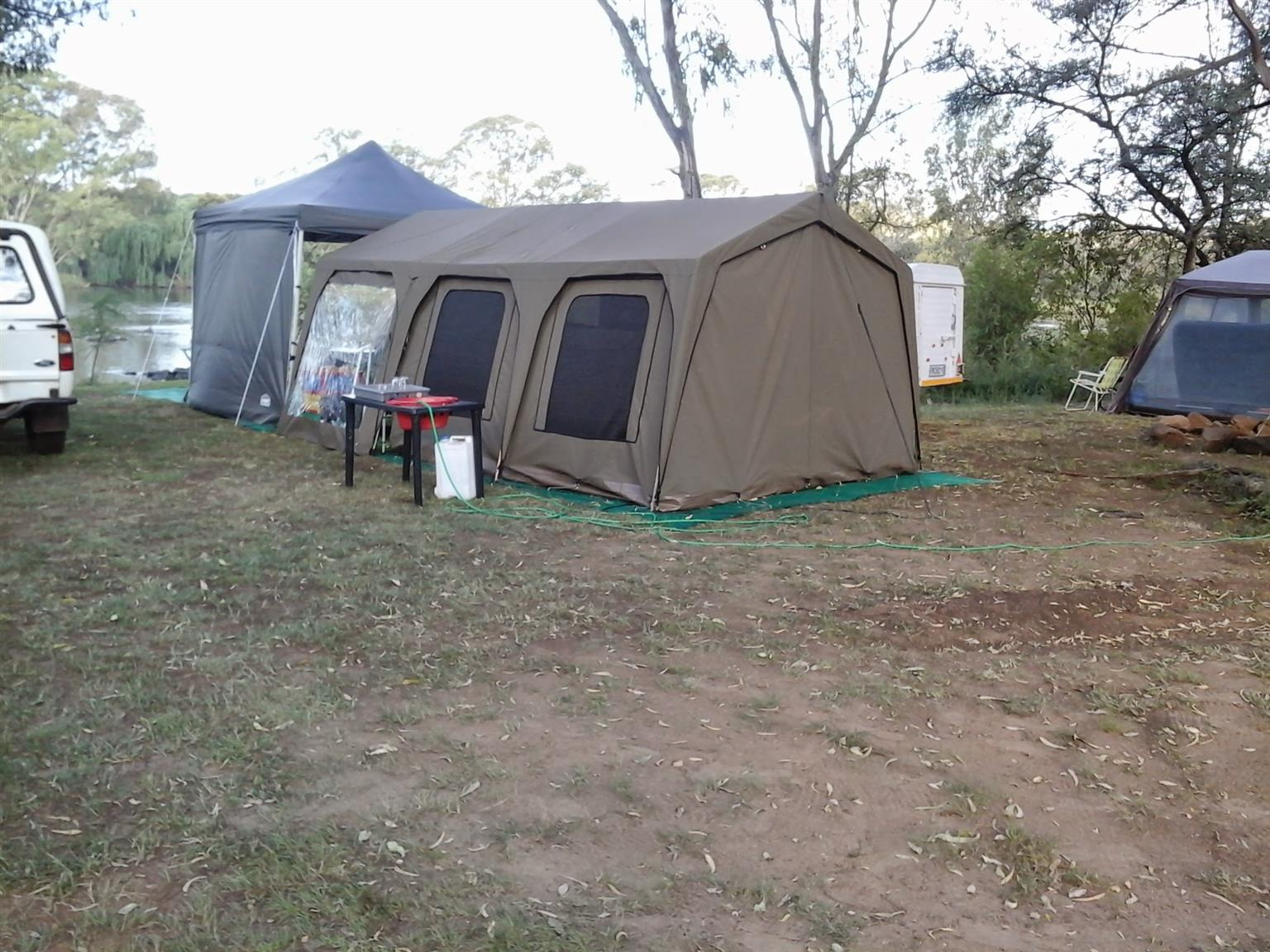 2 in 1 Combo tent with side panels & 2 in 1 Combo tent with side panels | Junk Mail