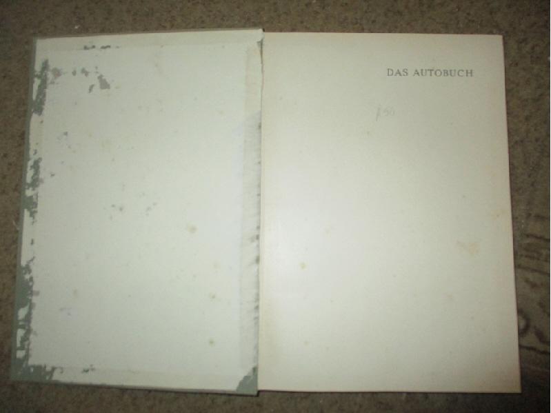 Das Autobuch 1956