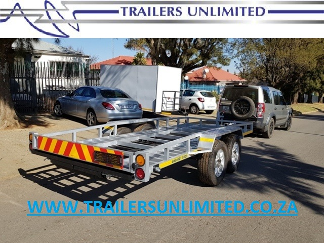 5000 X 2000 X 200 DOUBLE AXLE CAR TRAILERS.