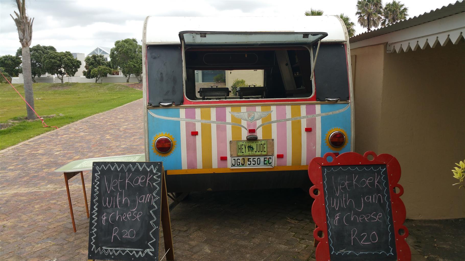 Catering caravan or food trailer