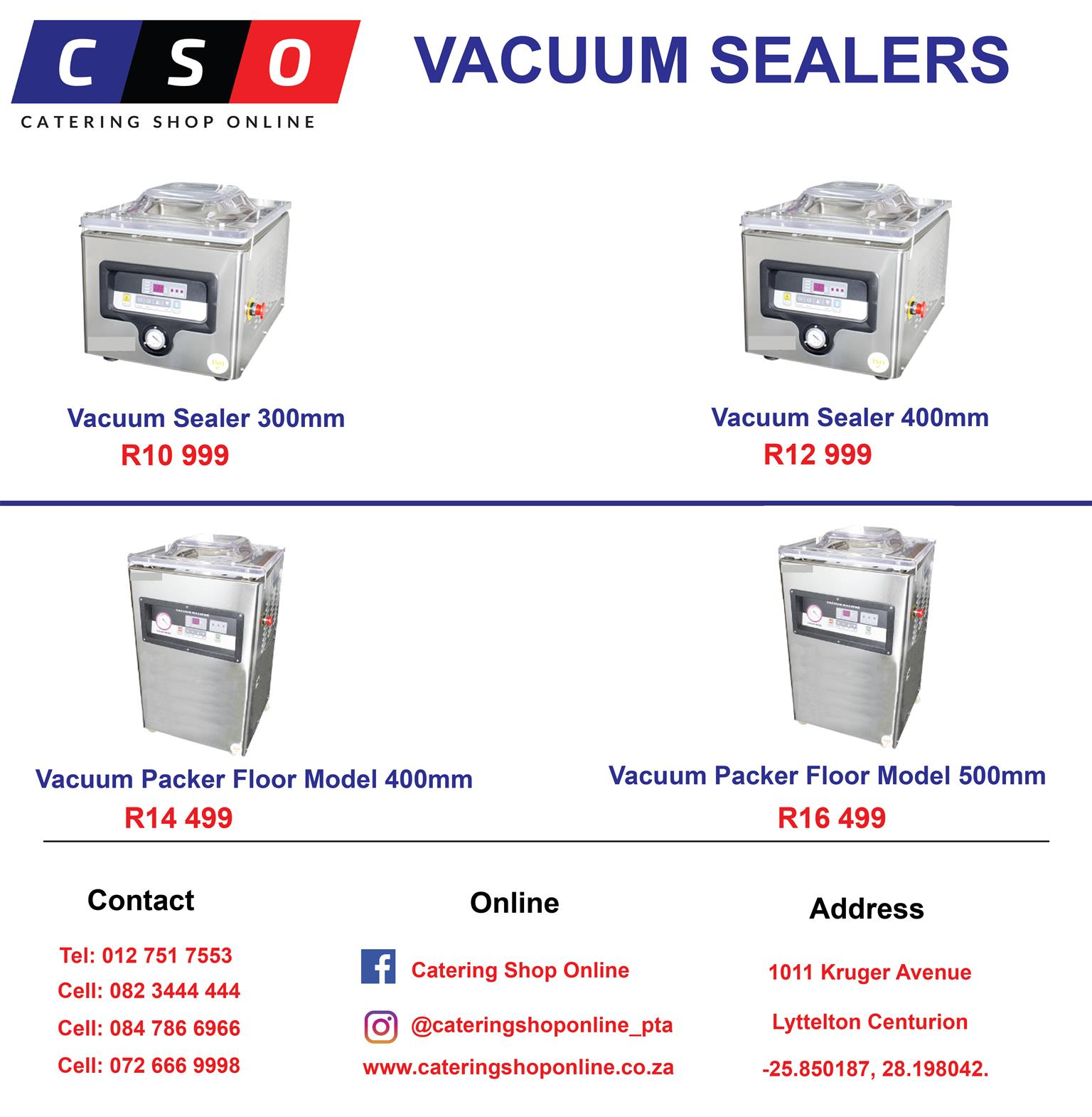 Vacuum Sealers