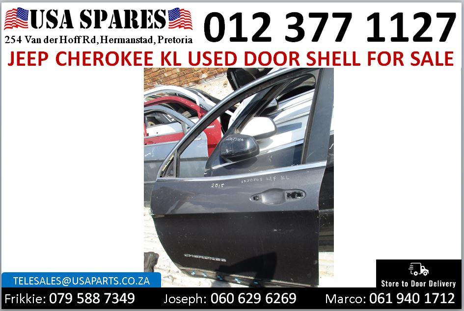 Jeep Cherokee KL 2014-2021 used door shells for sale