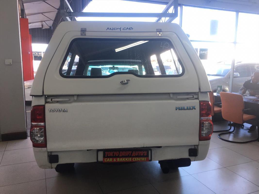 2012 Toyota Hilux single cab HILUX 2.0 VVTi P/U S/C