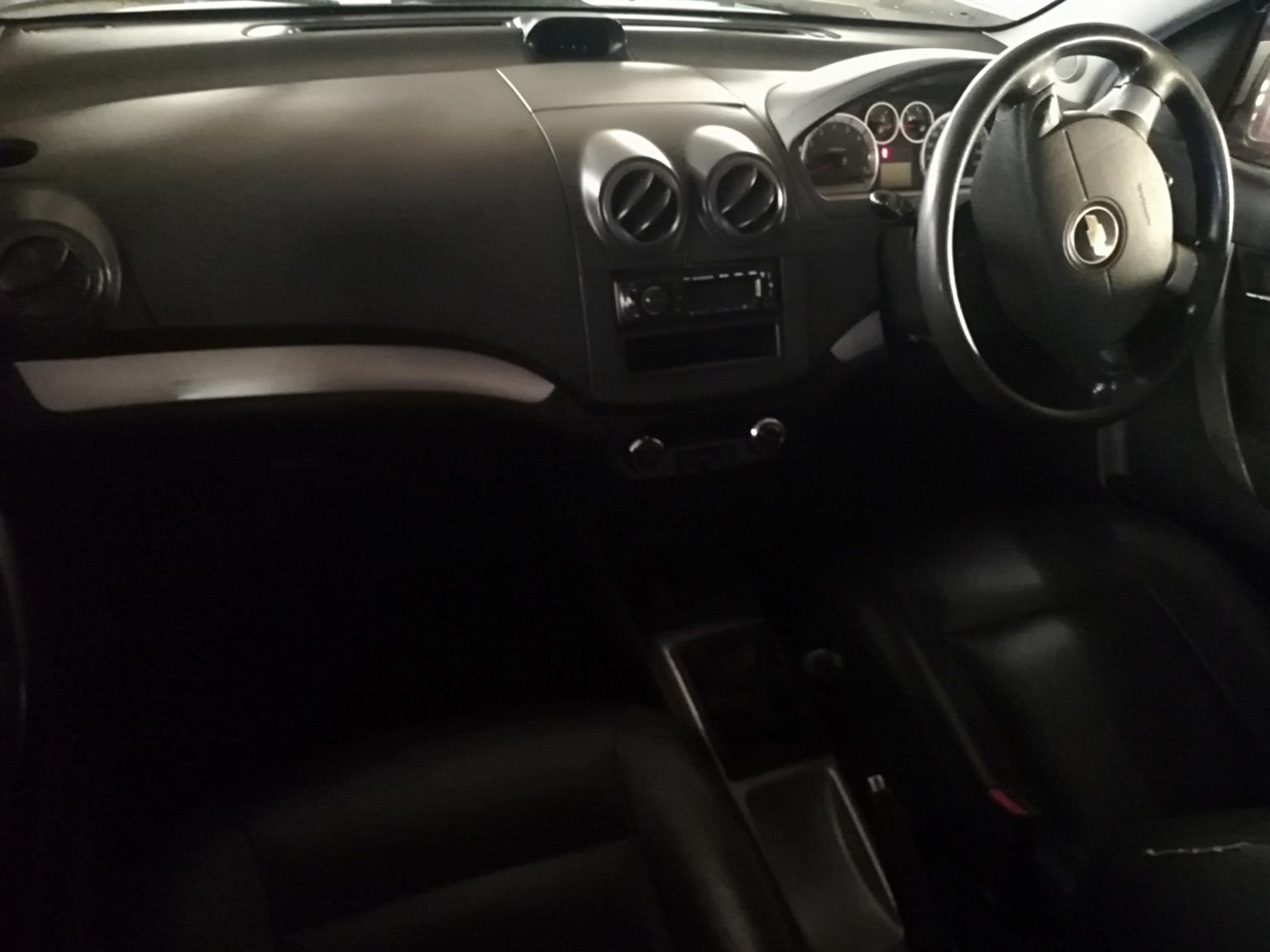 2009 Chevrolet Aveo 1.6 LT sedan