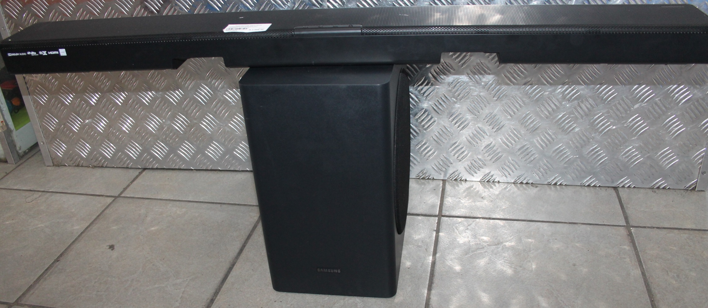 Samsung 5.1 channel sound bar with remote and cables #Rosettenvillepawnshop