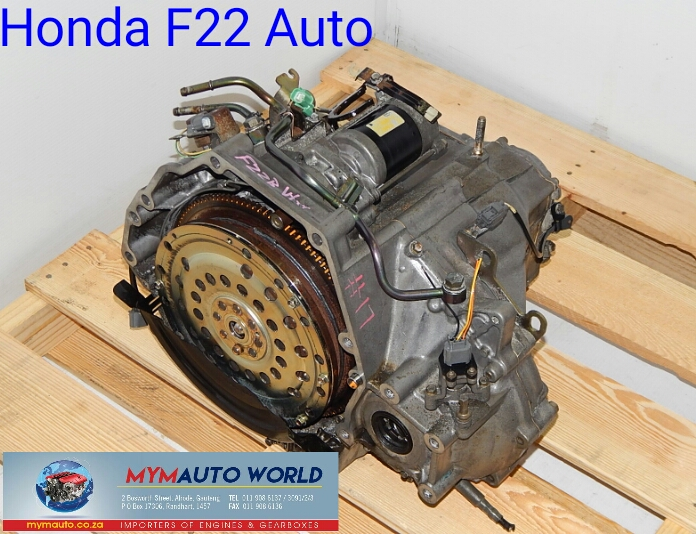 Imported used HONDA F22 AUTOMATIC, F22 AUTO GEARBOXES
