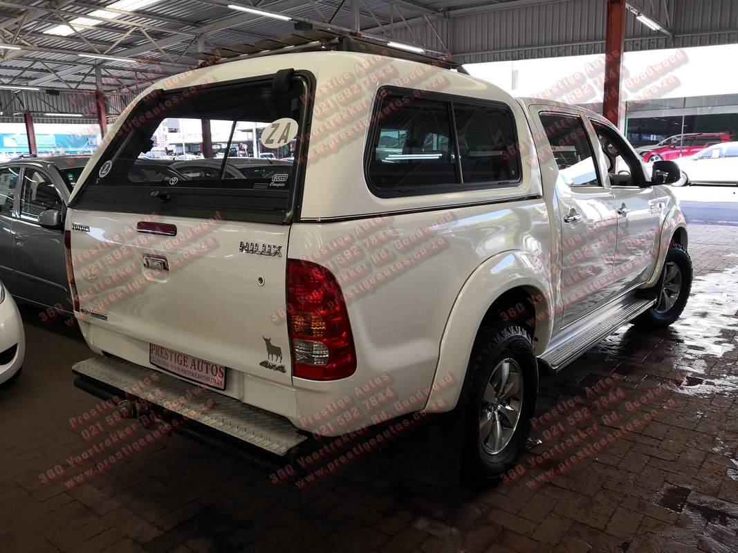 2009 Toyota Hilux 3.0D 4D double cab 4x4 Raider
