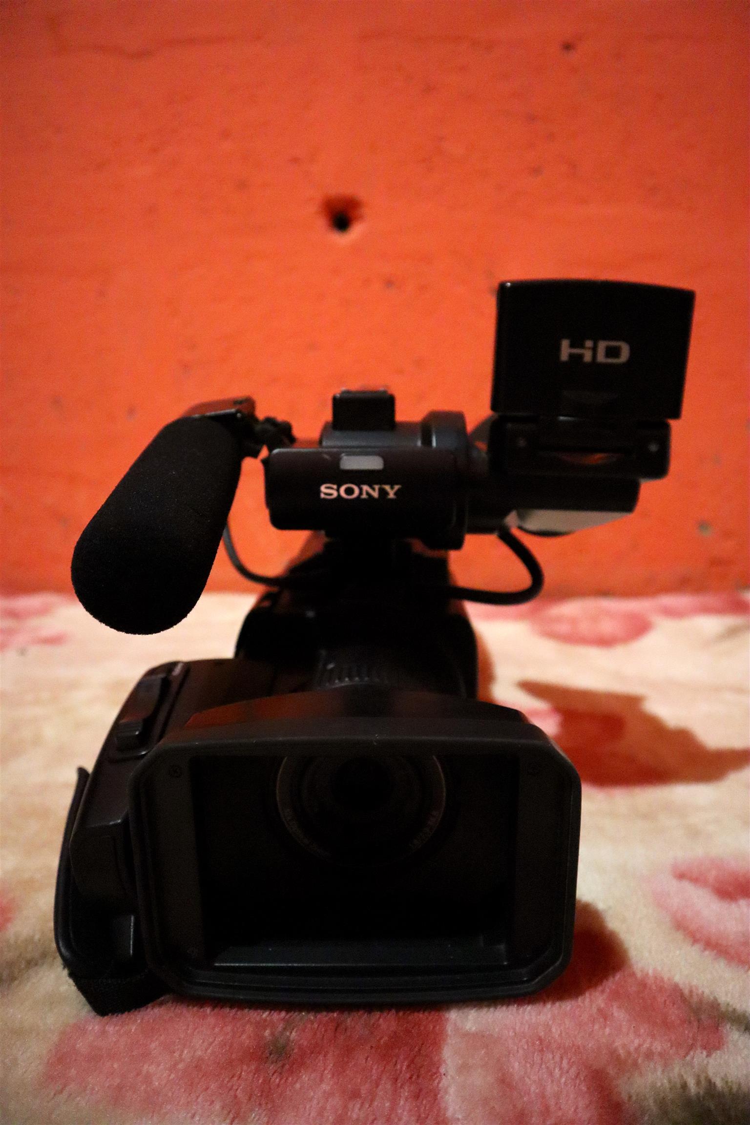 Sony HXR-MC1500 HD Camcorder PAL