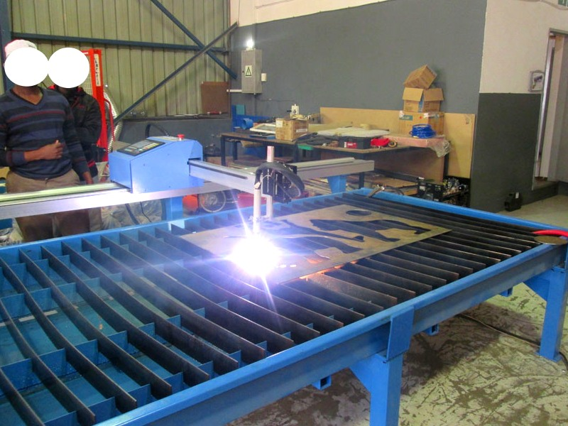 P-1318P MetalWise Lite CNC Plasma/Flame Dry/Water Cutting Table 1300x1800mm, Stepper Motor