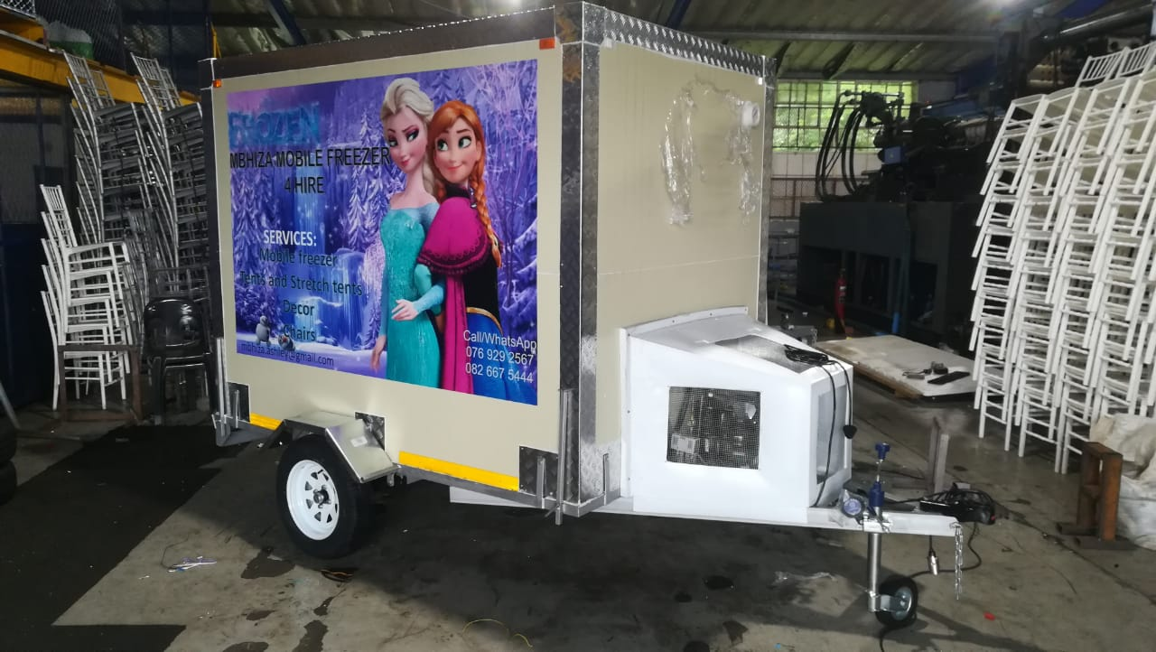 Mobile Coldroom 2in1 Fridge & Freezer JUNE Special