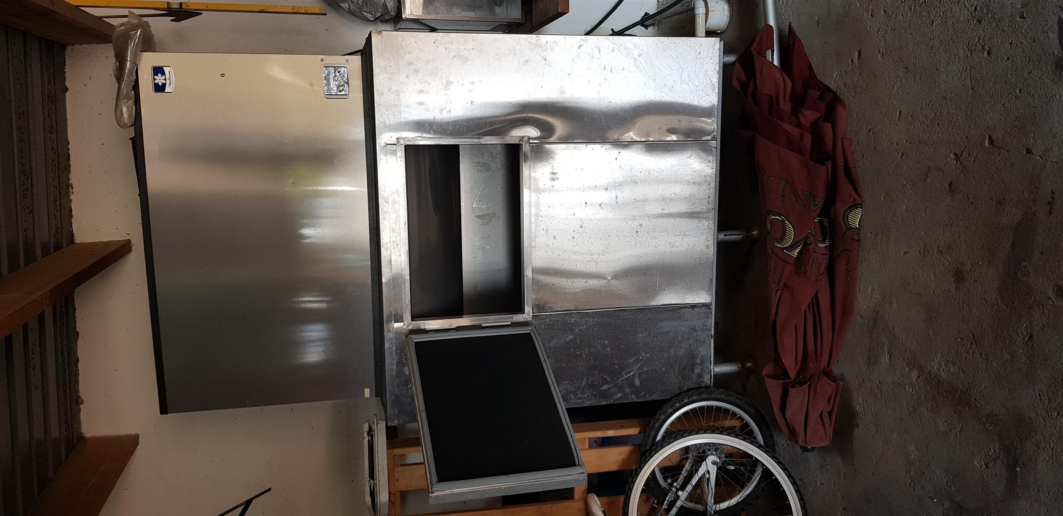Industrial ice machine for sale