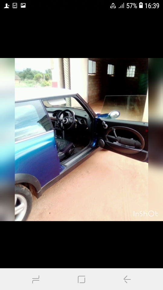 Mini cooper for sale need money for school fees