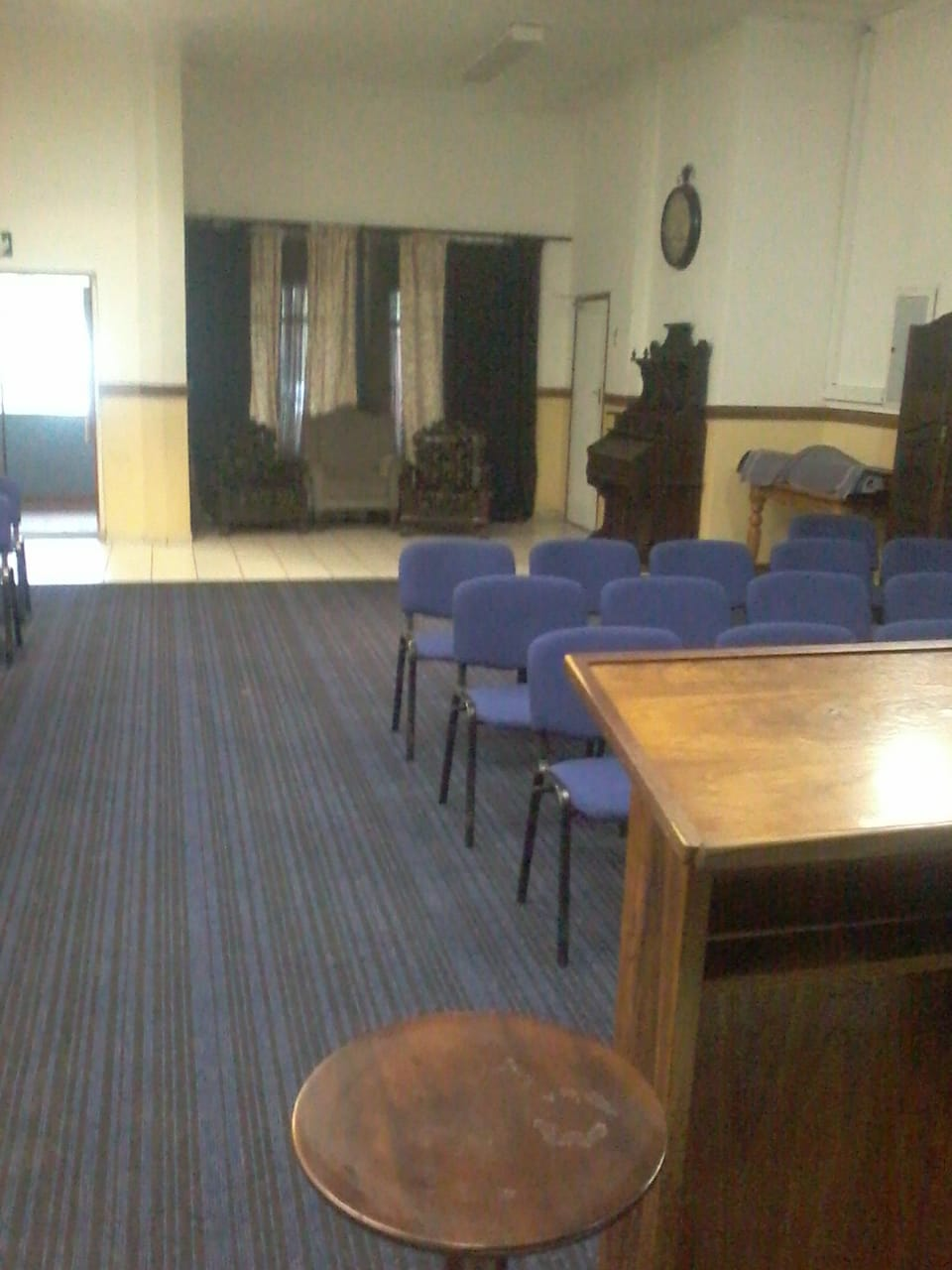 Church Hall to let in Riviera, Moot Area.