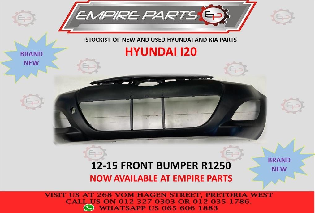 HYUNDAI I20 12-15 FRONT BUMPER