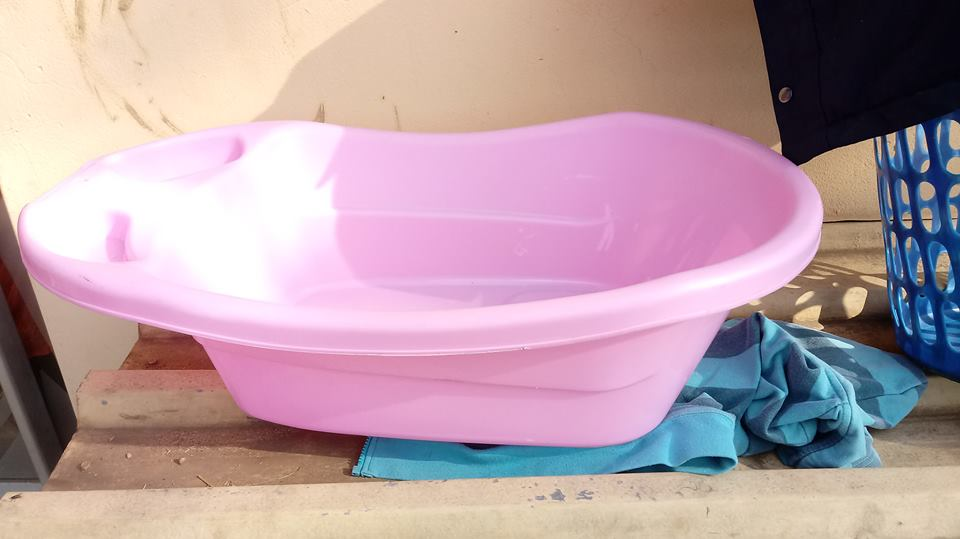 Pink baby bath for sale | Junk Mail