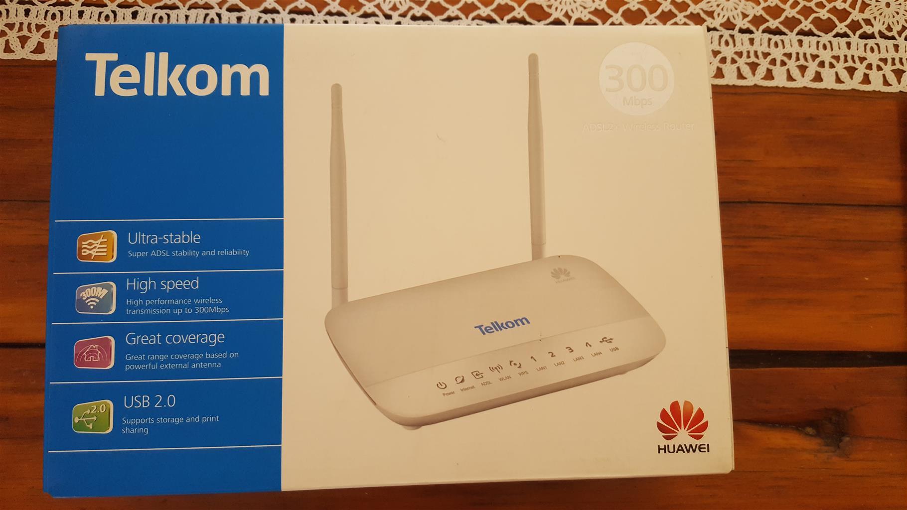 Telkom Huawei Adsl 2 Wireless Router Junk Mail