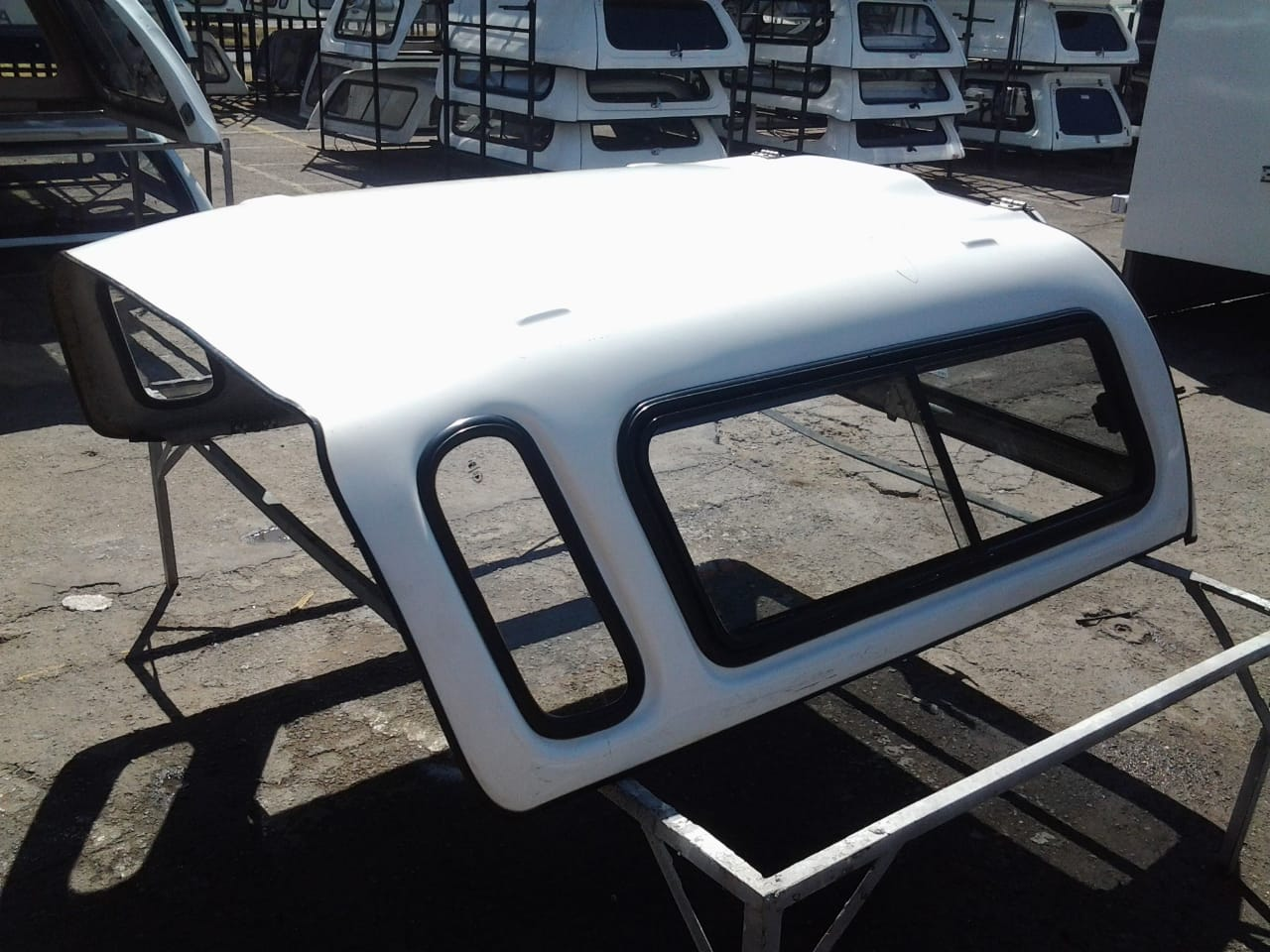 PRE OWNED SKYTOP CORSA UTILITY CANOPY FOR SALE!!!!!!!!!