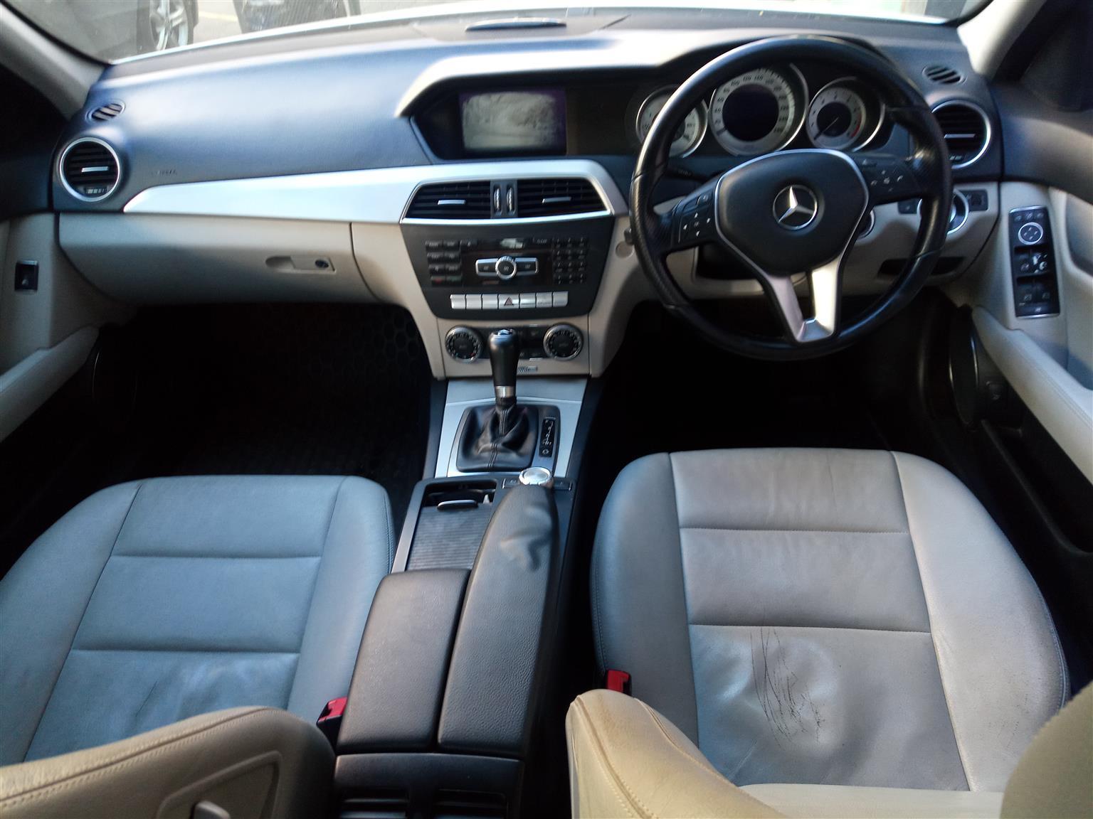 2012 Mercedes Benz C-Class C200 Edition C