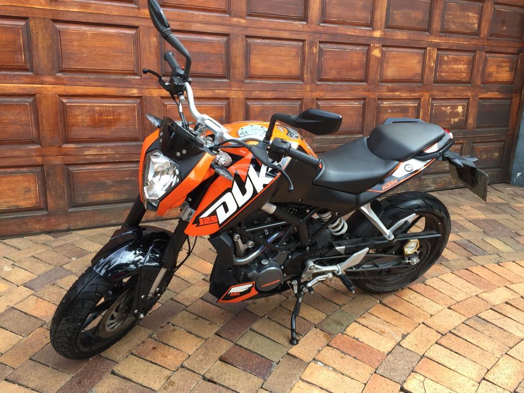 2013 KTM 125 Duke