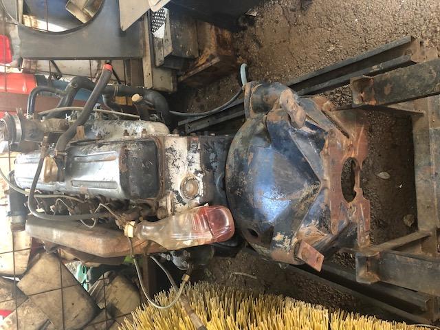 Bedford J330 Diesel Engine