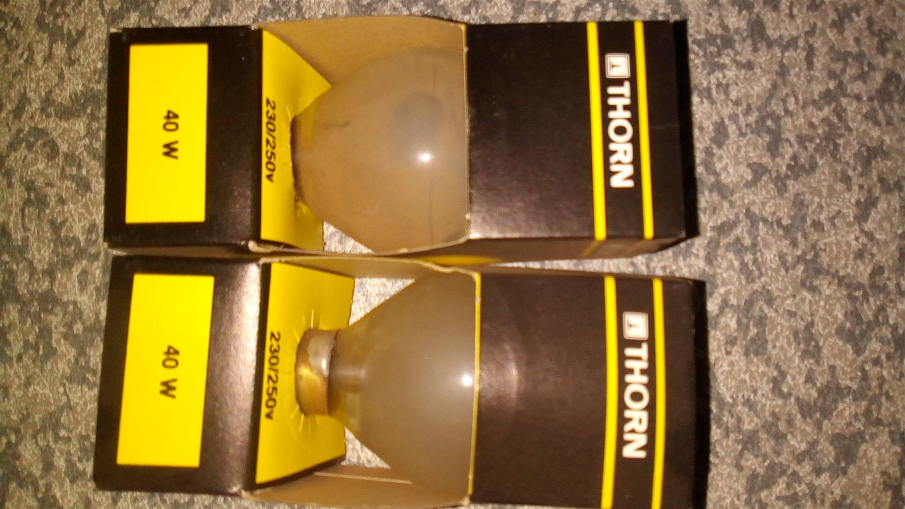 Thorn light bulb x 2