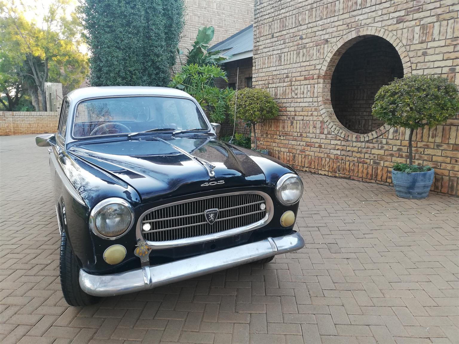 Peugeot 403 for sale