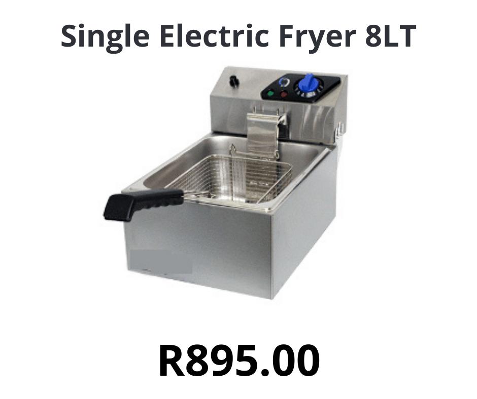 Single Electric Fryer 8LT