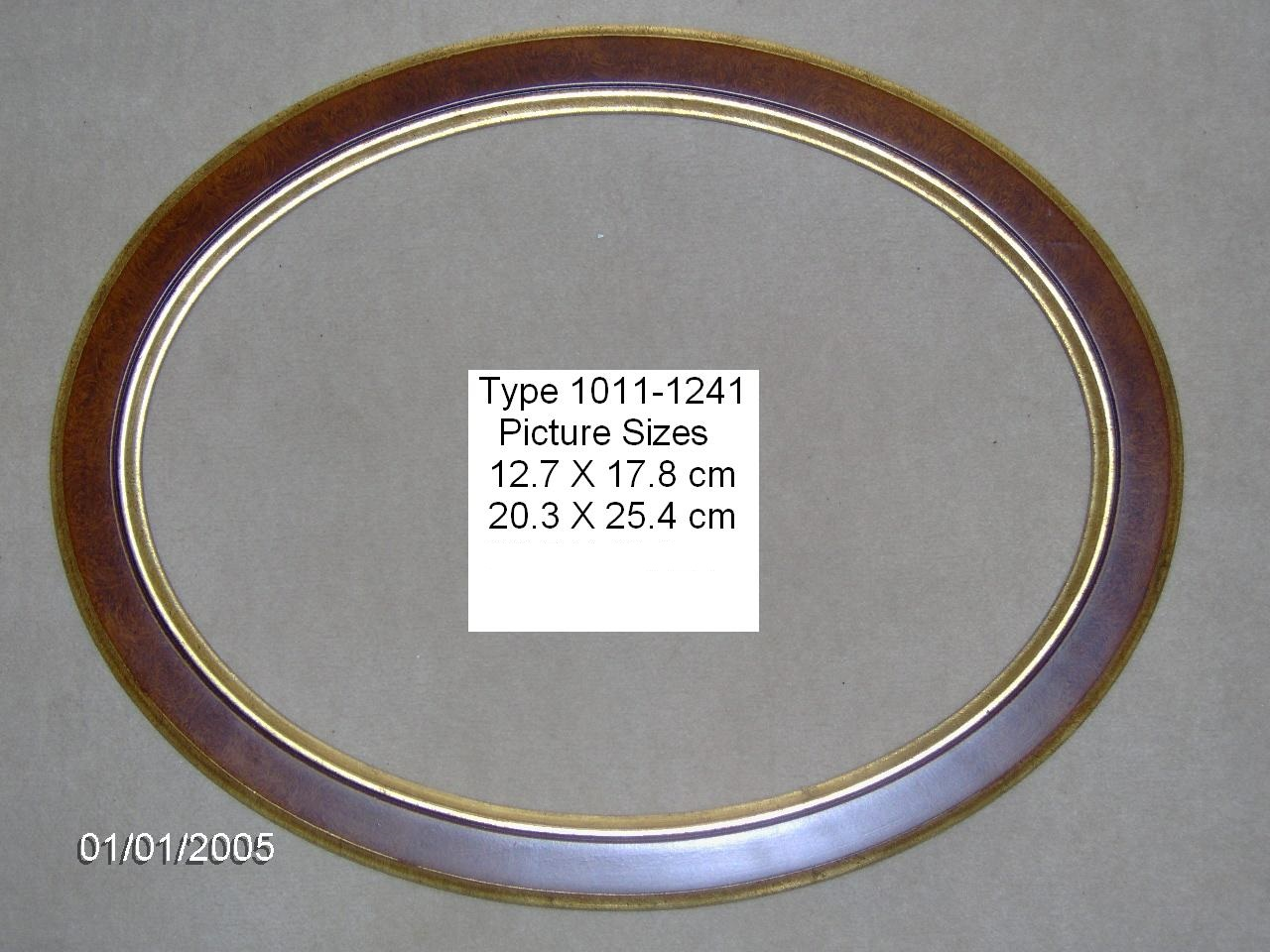 Oval picture frames.  Wooden, high quality, large selection, hand finished.