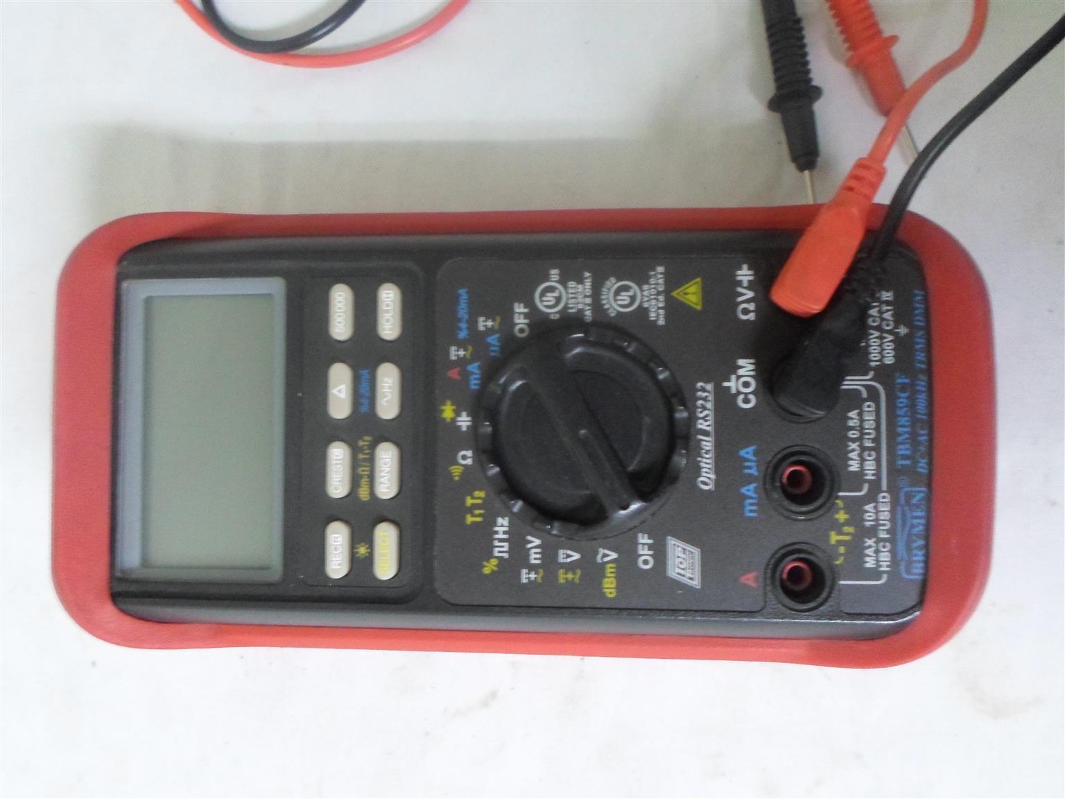 Tester Bryman TBM859CF