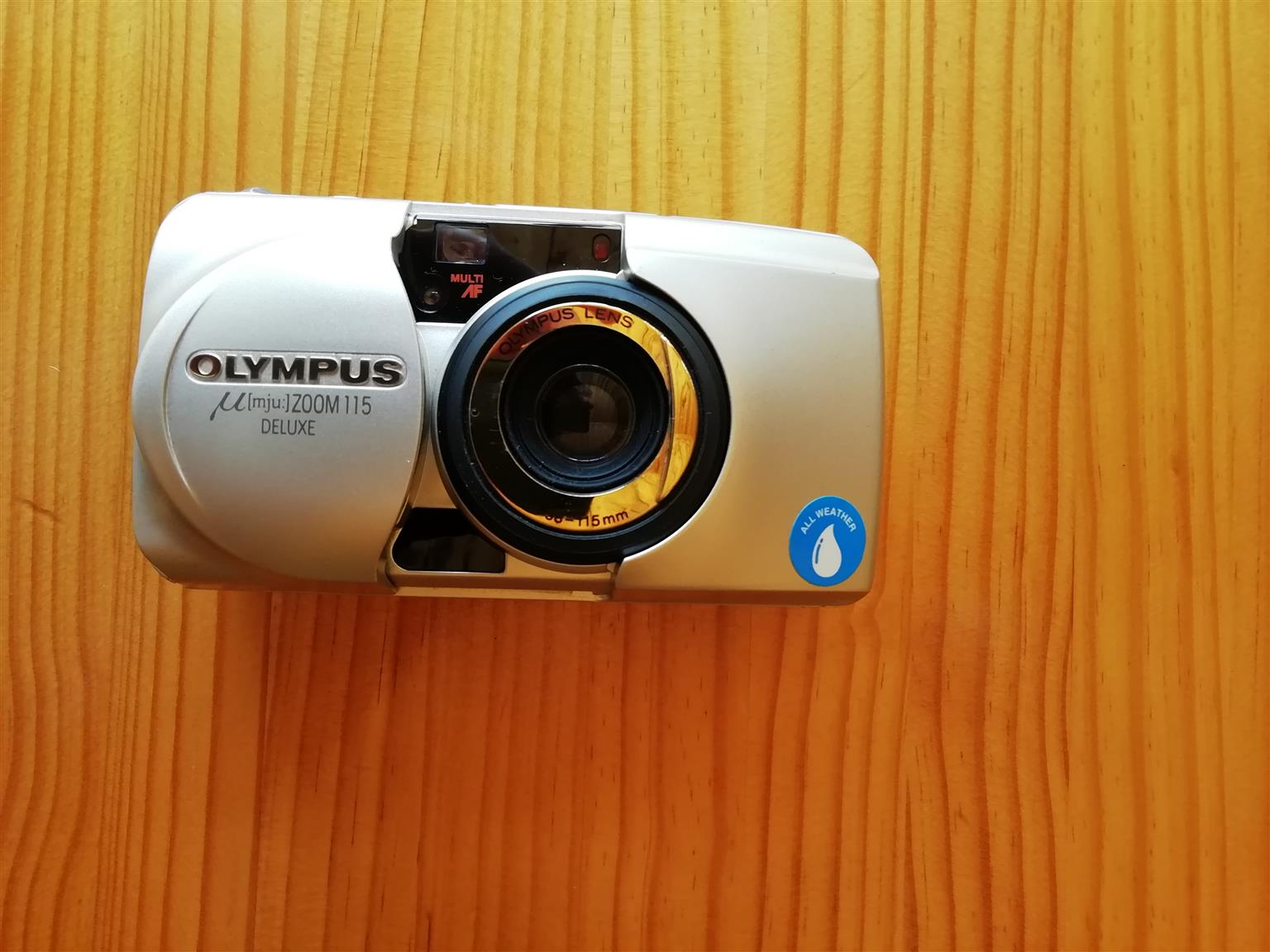 Vintage Olympus Stylus Zoom 115 35mm Point & Shoot Film Camera for sale