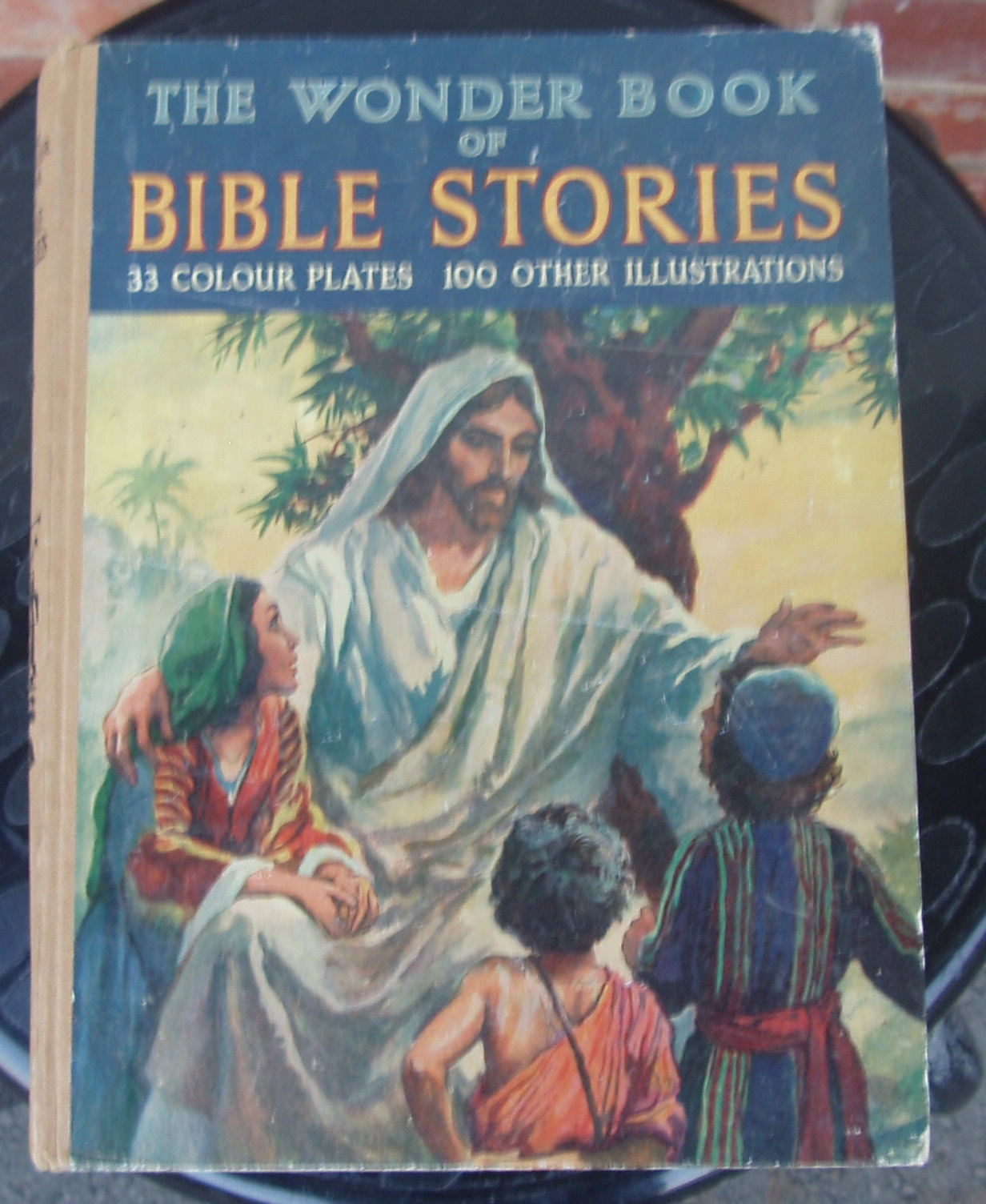 The Wonder book of Bible stories- by David Kyles