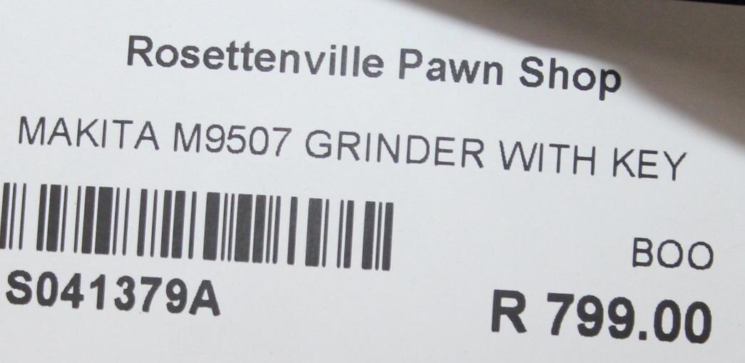 Makita grinder S041379A #Rosettenvillepawnshop